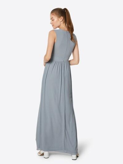 Rochie de seară 'KYOMI MAXI' TFNC pe albastru: Privire spate