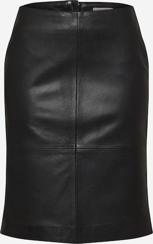 SOAKED IN LUXURY Kjol i svart