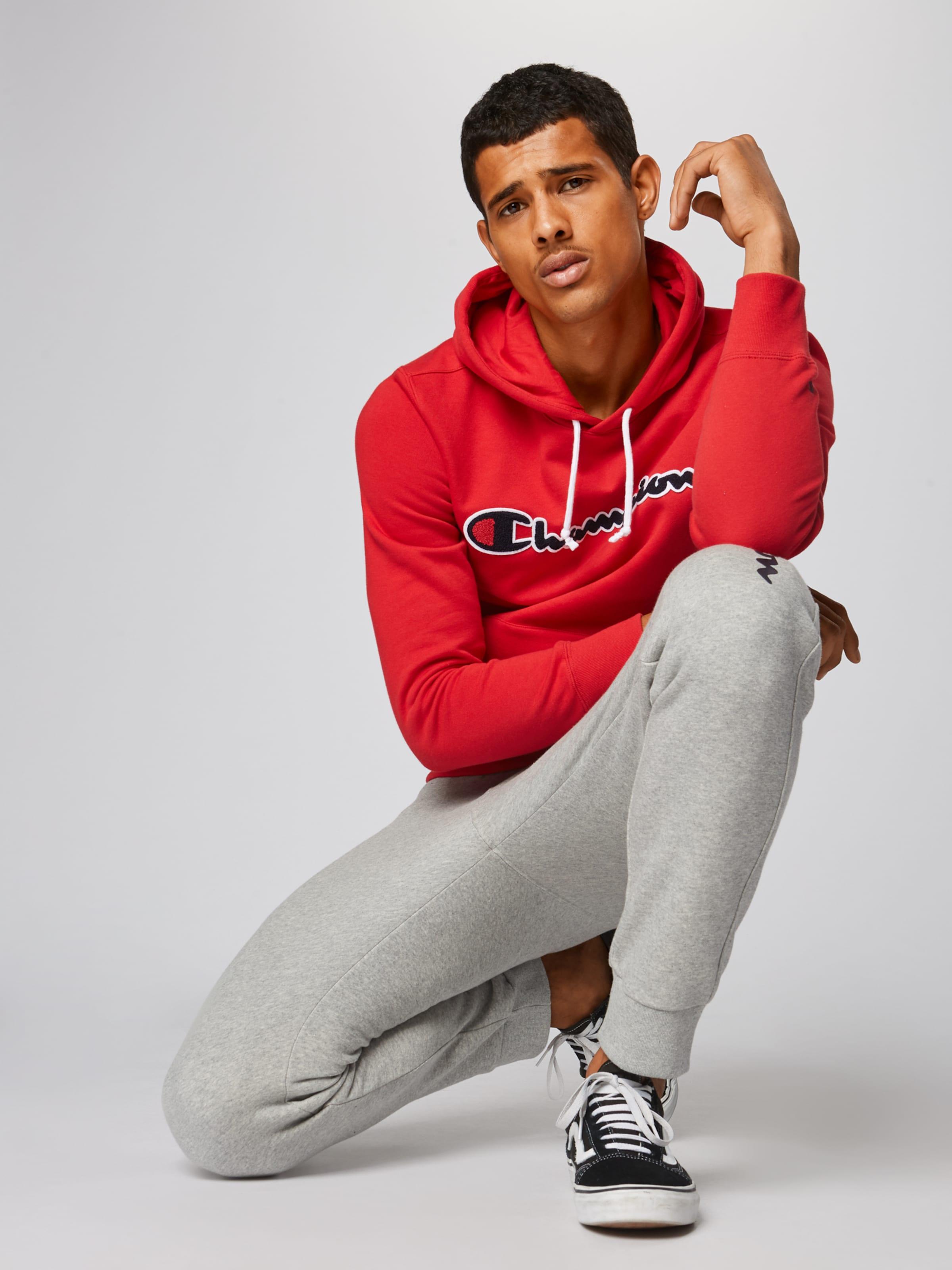 Authentic Gris Apparel En Champion Cuff Athletic Pantalon Pants' 'rib nP80wkO