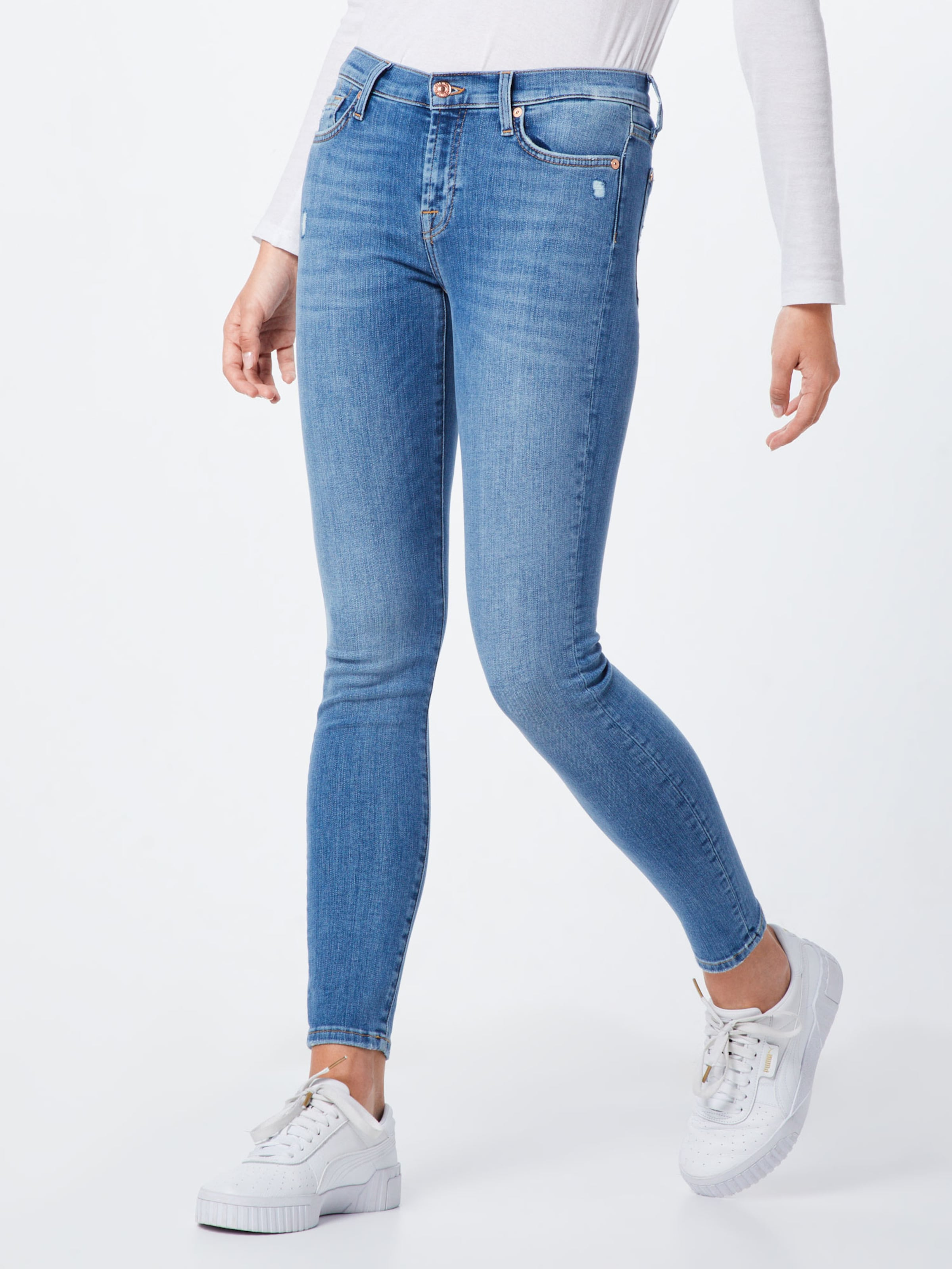 In 7 Jeans Denim Blue Mankind Skinny' For All 'the 08PXnwOk