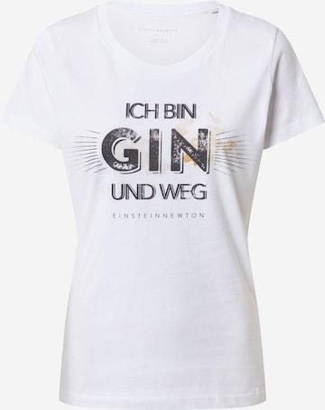 EINSTEIN & NEWTON Shirt 'Gin Weg' in Weiß