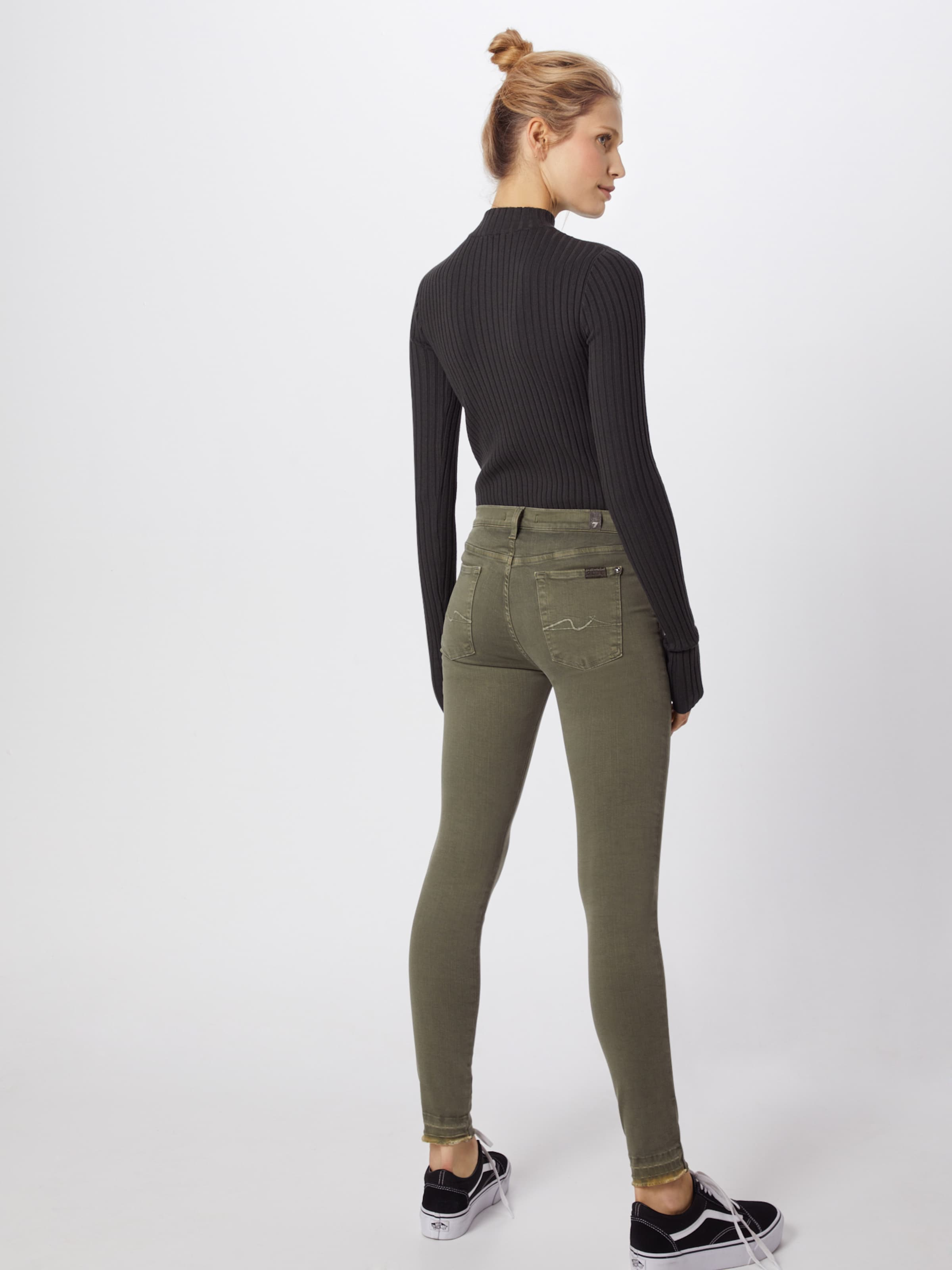 In Khaki Crop' For Jeans Mankind 'the Skinny 7 All 5Lq3A4Rj