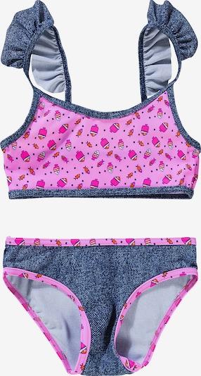 FASHY Bikini in graumeliert / pink, Produktansicht