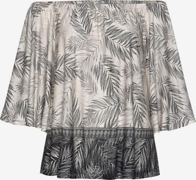 BUFFALO Strandshirt in creme / dunkelgrau, Produktansicht