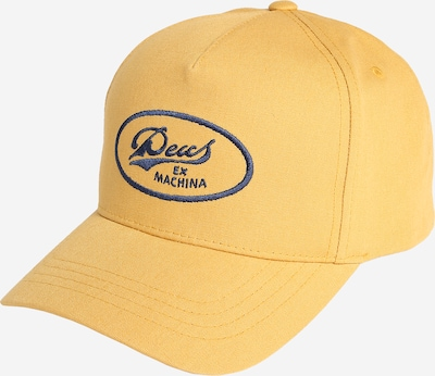 DEUS EX MACHINA Trucker Cap 'John Lee' in blau / gelb, Produktansicht