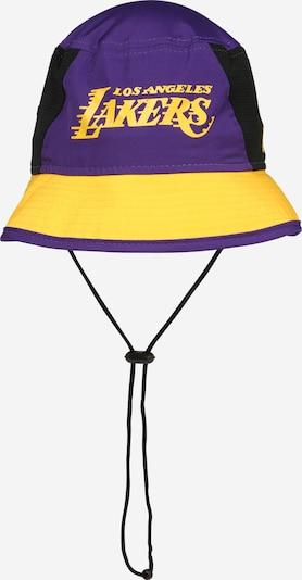 NEW ERA Kapa 'NBA TEAM BUCKET' | rumena / lila / črna barva, Prikaz izdelka