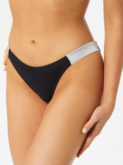 Calvin Klein Swimwear Bikinihose 'CHEEKY' in schwarz / weiß, Modelansicht