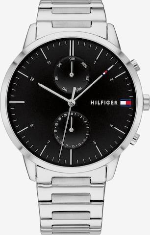 TOMMY HILFIGER Analog Watch 'HUNTER' in Silver