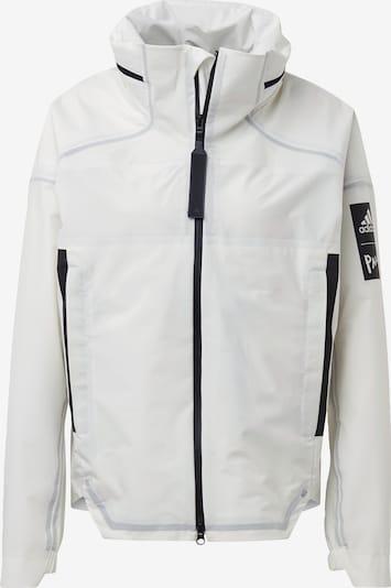 ADIDAS PERFORMANCE Zunanja jakna | črna / bela barva, Prikaz izdelka