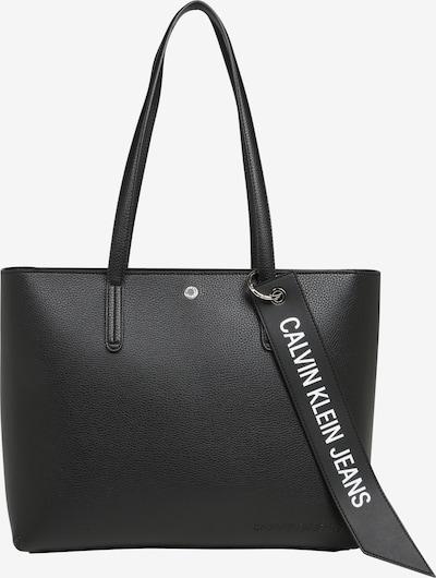 Plase de cumpărături 'Banner' Calvin Klein Jeans pe negru, Vizualizare produs