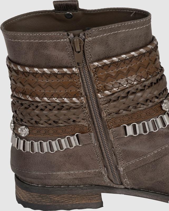 BULLBOXER Stiefelette mit Kettendetails Günstige und langlebige Schuhe