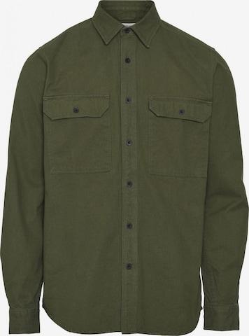 KnowledgeCotton Apparel Hemd in Grün