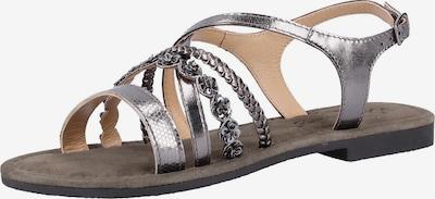 MUSTANG Sandalen met riem in de kleur Zilver, Productweergave