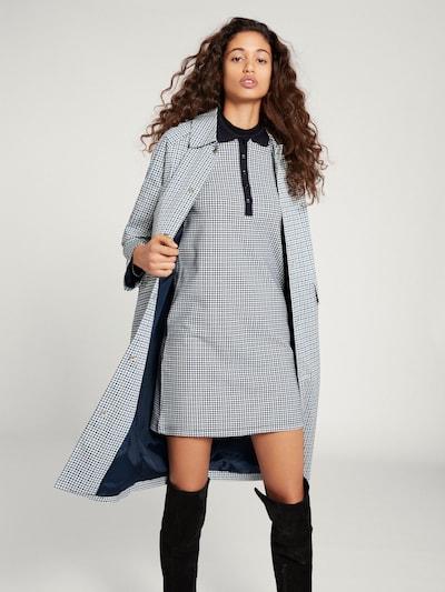 Rudeninis-žieminis paltas 'Patty' iš EDITED , spalva - smėlio / mėlyna, Modelio vaizdas
