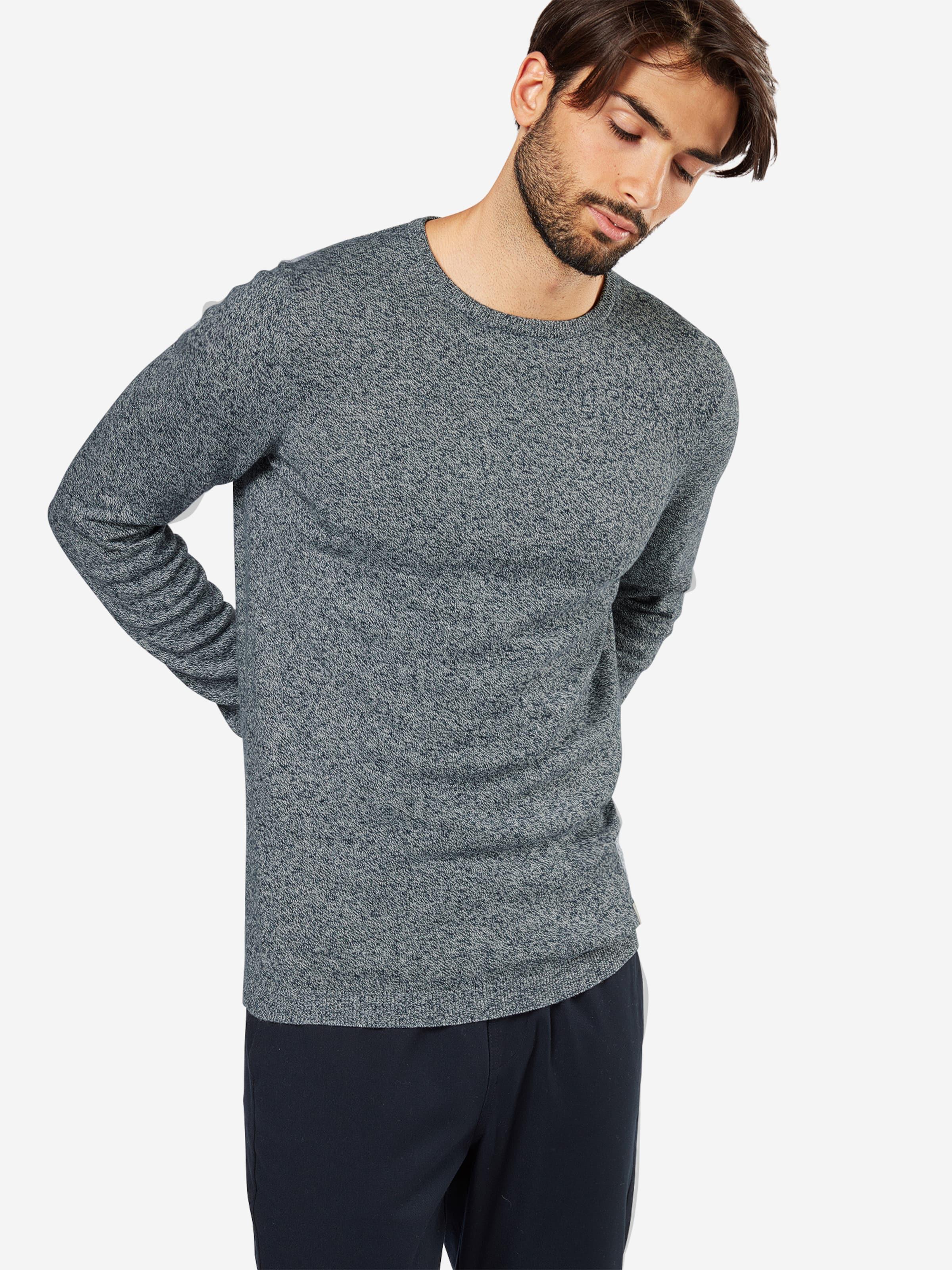 Billig Verkauf Rabatte Preiswert TOM TAILOR DENIM Pullover 'grindle basic plus crewneck' 100% Original Online KUY3N9g05t