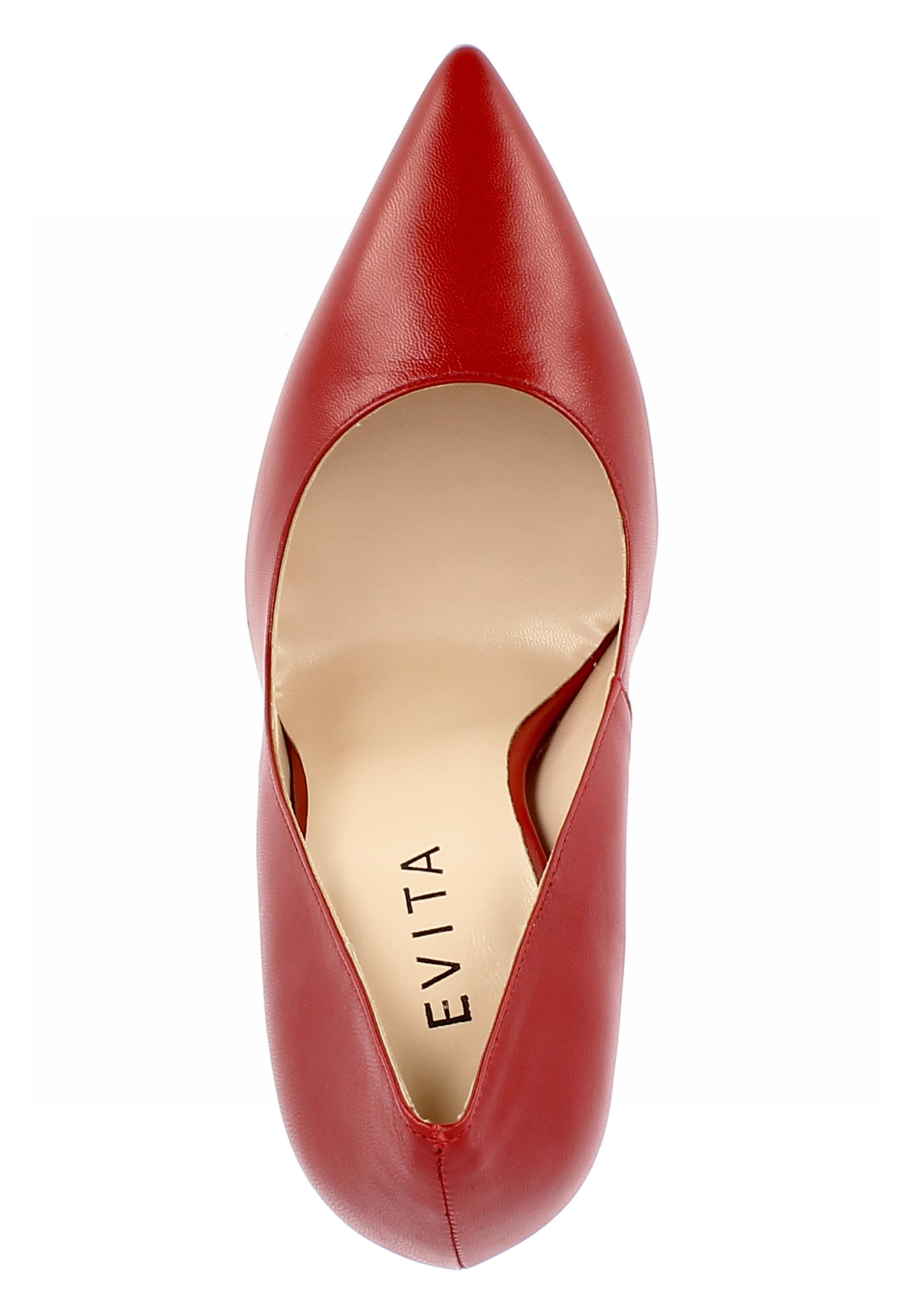 'lisa' Escarpins En Escarpins En 'lisa' Evita 'lisa' Evita Evita En Escarpins Rouge Rouge mvn0ON8yw