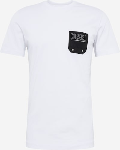 DIESEL Shirt 'T-Diego' in weiß, Produktansicht