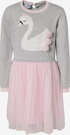 happy girls Strickkleid in graumeliert / rosa, Produktansicht