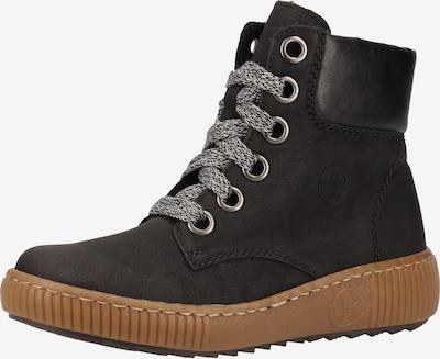 Suvarstomieji kulkšnis dengiantys batai iš RIEKER , spalva - juoda, Prekių apžvalga