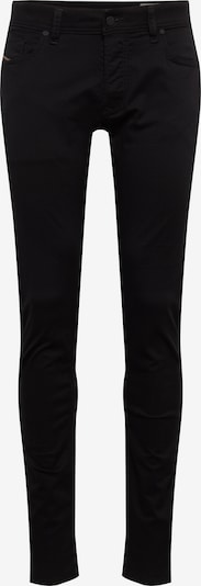 DIESEL Jean 'Sleenker' en noir denim, Vue avec produit