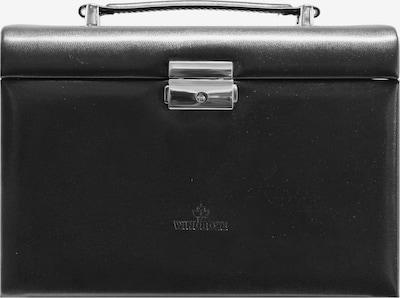 WINDROSE Schmuckkoffer 'Merino' in schwarz, Produktansicht