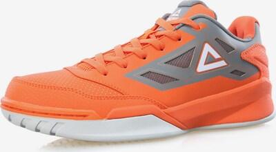 PEAK Basketballschuhe 'Blade 121' in grau / orange, Produktansicht