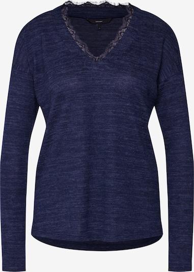 VERO MODA Shirt 'VMHENNY LS V-NECK TOP' in nachtblau, Produktansicht