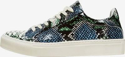 SELECTED FEMME Sneaker in blau / grün, Produktansicht