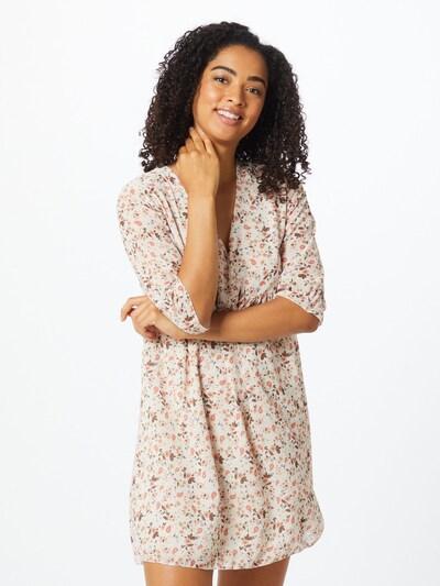 Hailys Kleid 'Silvia' in beige / pastellblau / rosa, Modelansicht