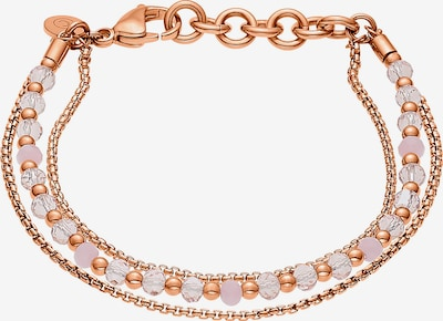 C-Collection Armband in rosegold / transparent, Produktansicht