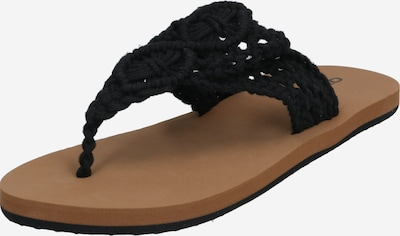 Flip-flops 'FW CROCHET SANDALS' O'NEILL pe negru, Vizualizare produs