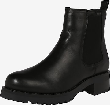 Bianco Chelsea Boots 'Coral' in Schwarz