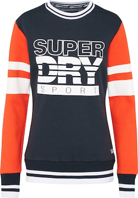 Superdry Sportsweatshirt 'COLOUR BLOCK CREW'