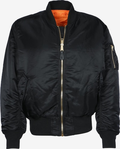ALPHA INDUSTRIES Jacke in orange / schwarz, Produktansicht