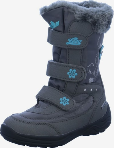 LICO Snowboots 'Mary V' in grau: Frontalansicht