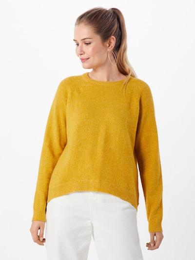 minimum Pullover 'kita' in gelb, Modelansicht