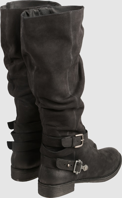 SPM High Boots 'USA' aus Leder