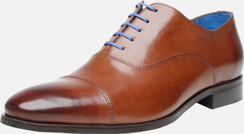 SHOEPASSION Businessschuhe durchgenäht 'No. 5602 BL' in cognac, Produktansicht