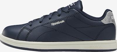 Reebok Classic Sneaker in dunkelblau / silber: Frontalansicht