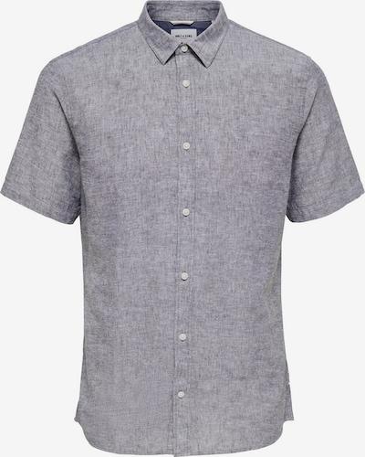 Only & Sons Kurzarmhemd in graumeliert, Produktansicht