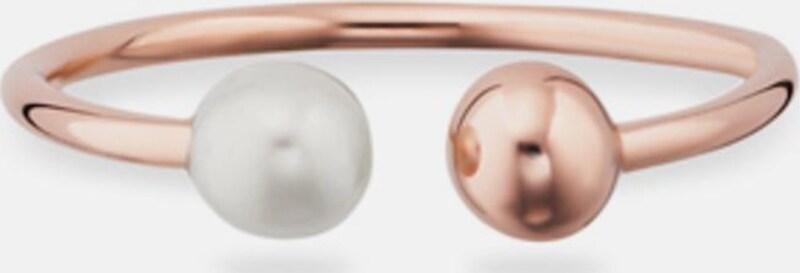 caï Perlenring 'love, pearl twist, C7338R/90/46'