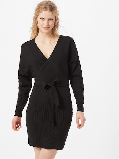 VERO MODA Strickkleid 'Rem' in schwarz, Modelansicht