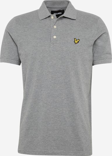 Lyle & Scott Poloshirt in graumeliert, Produktansicht