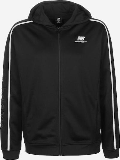 new balance Trainingsjacke 'MJ01512' in schwarz, Produktansicht