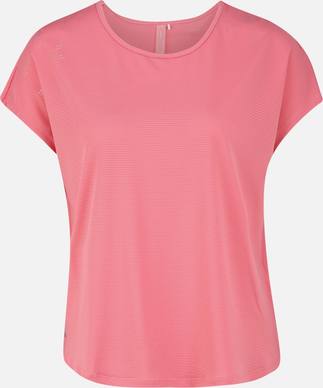 ONLY PLAY Functioneel shirt 'MILEY LOOSE SS TRAINING TEE' in de kleur Pink, Productweergave