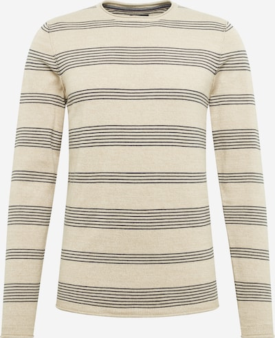 JACK & JONES Pullover 'BLUJUSTIN ' in beige, Produktansicht