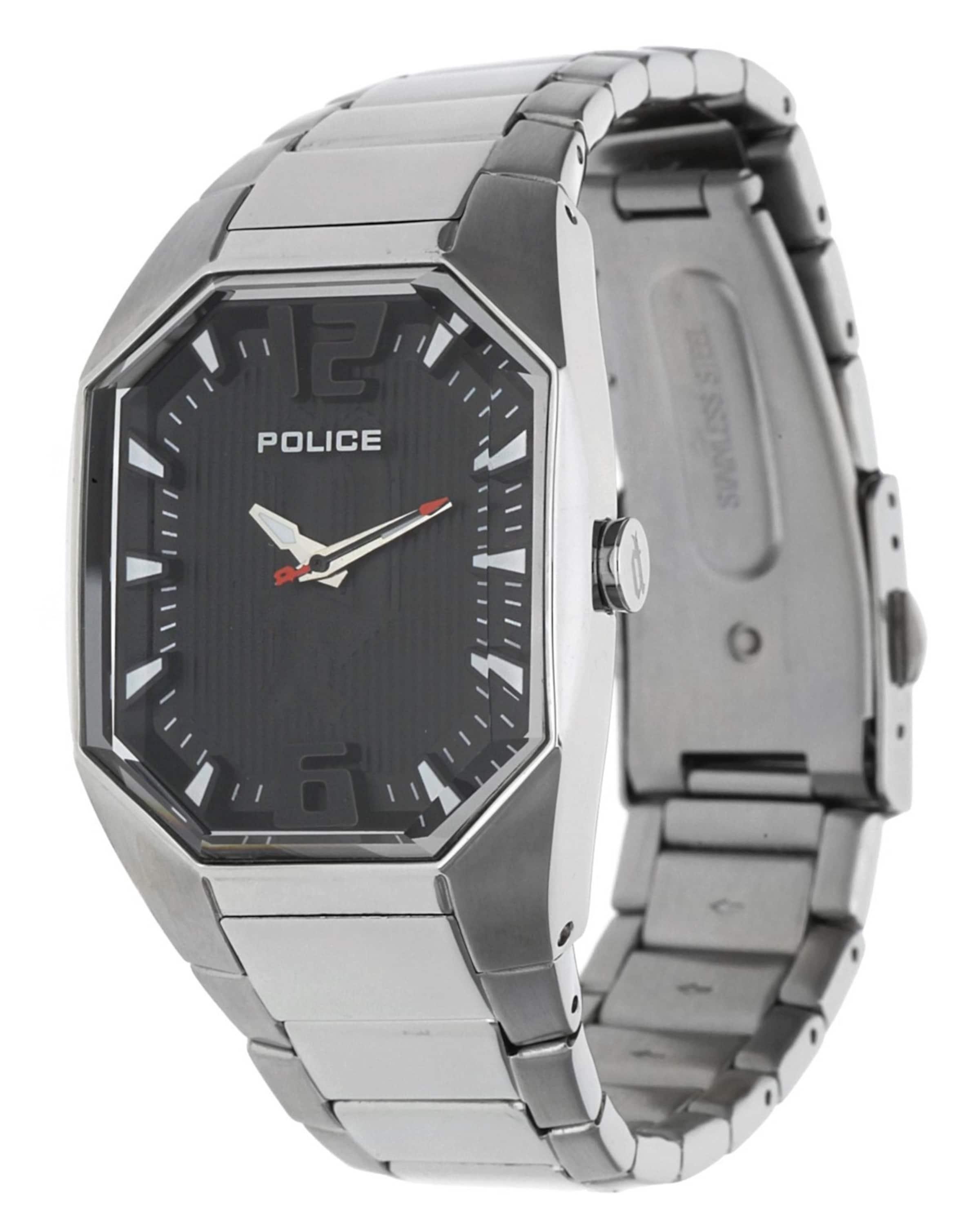 POLICE Armbanduhr Octane P12895LS-02M Beste Authentisch 9vchIry