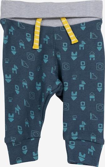 SIGIKID Softbundhose in nachtblau / taubenblau / hellgrau, Produktansicht