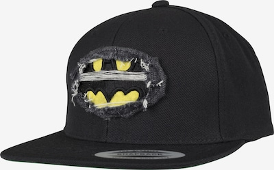 Mister Tee Cap 'Destroyed Batman' in schwarz: Frontalansicht