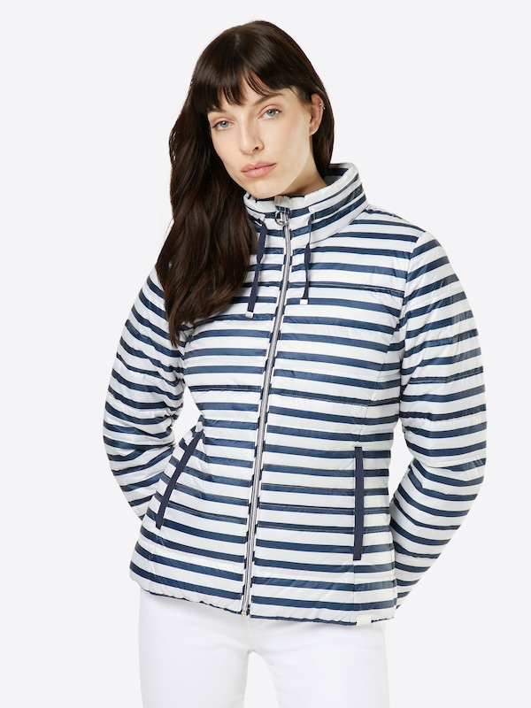 Tom Tailor Quilt Jacket In Striped Look